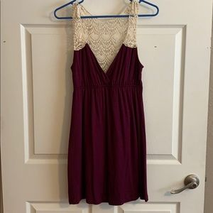 Cotton and Lace Summer Dress